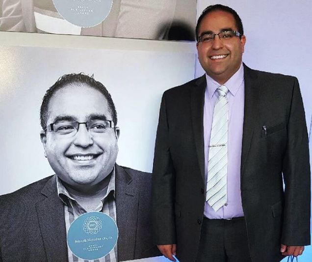 Irfanali Moledina CPA, CA receives 2016 CPA Alberta Achievement Award