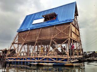Prototype's versatile structure, Makoko Floating School, Lagos, Nigeria