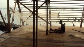 Built from local wood, Makoko Floating School, Lagos, Nigeria