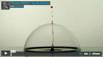 21st Century Renaissance Exhibitions at the Ismaili Centre Toronto: Ali Kazimi's Oceans Within/Surface Tension - Enightenment in a Digital Age
