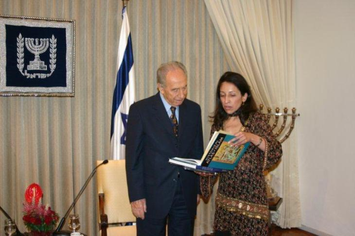 Nur Amersi: A memorable sunday morning in June with Shimon Peres, President of Israel