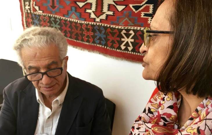 Zainub Verjee in conversation with Parviz Tanavoli