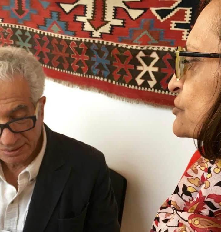 Zainub Verjee in conversation with Parviz Tanavoli
