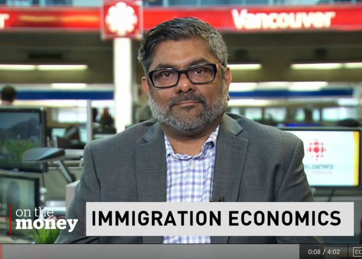CBC News Vancouver: Immigration lawyer Zool Suleman on coming to Canada and starting a business