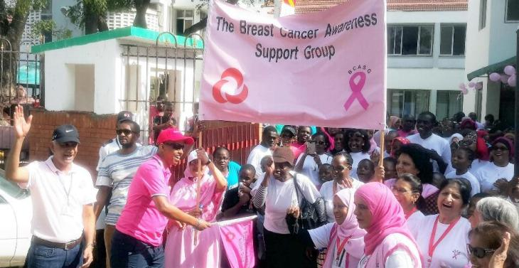 Aga Khan Hospital Mombasa organizes Breast Cancer Awareness Walk | Coastweek