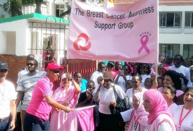 Aga Khan Hospital Mombasa organizes Breast Cancer Awareness Walk   Coastweek