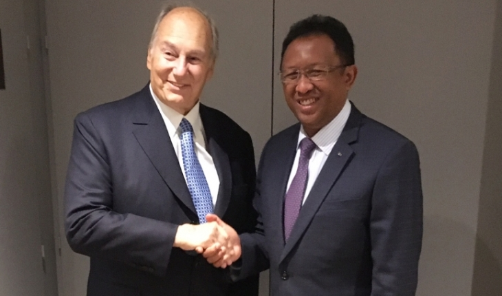 His Highness the Aga Khan meets Madagascar President | AKDN