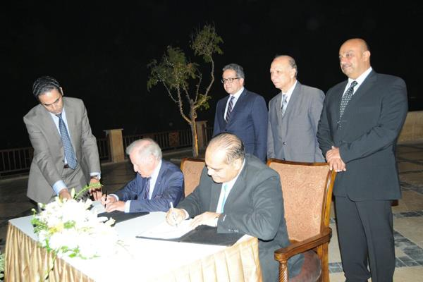 Egyptian antiquities ministry sign MoU with AKTC in archaeology, museology fields