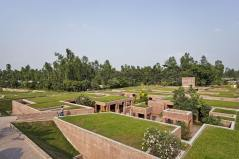 Located in rural Gaibandha. Aga Khan Award for Architecture 2016 Winner: Friendship Centre Gaibandha, Bangladesh