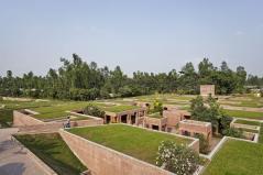 Located in rural Gaibandha. Aga Khan Award for Architecture 2016 Winner: Friendship Centre Gaibandha, Bangladesh