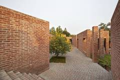 To prevent flooding, the Friendship Centre is built directly on the low land. Aga Khan Award for Architecture 2016 Winner: Friendship Centre Gaibandha, Bangladesh