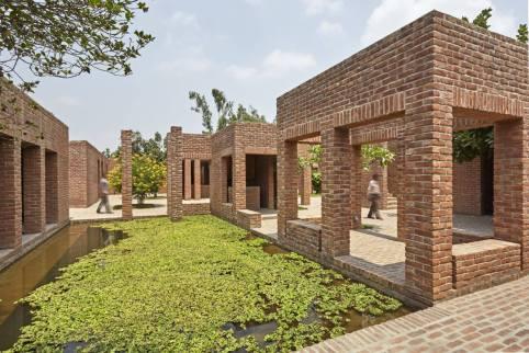 The 'Ka' Block. Aga Khan Award for Architecture 2016 Winner: Friendship Centre Gaibandha, Bangladesh