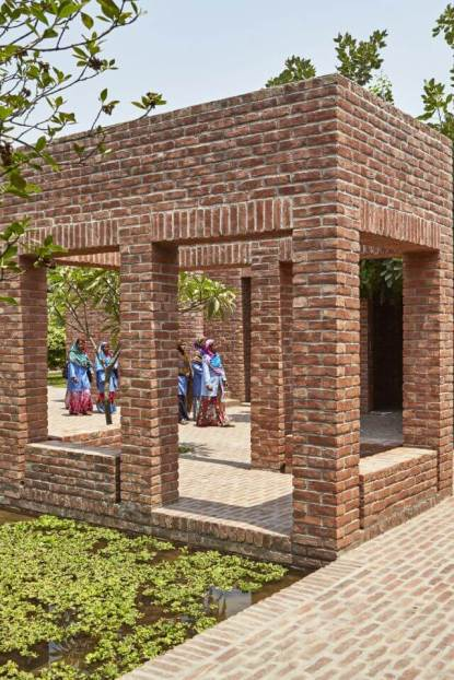 Natural ventilation. Aga Khan Award for Architecture 2016 Winner: Friendship Centre Gaibandha, Bangladesh