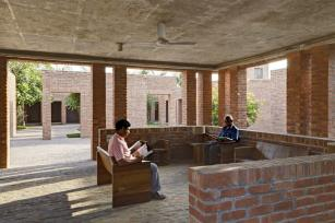 View of reception space. Aga Khan Award for Architecture 2016 Winner: Friendship Centre Gaibandha, Bangladesh