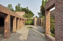 Inspired by the Buddhist monasteries. Aga Khan Award for Architecture 2016 Winner: Friendship Centre Gaibandha, Bangladesh