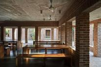 Dining room. Aga Khan Award for Architecture 2016 Winner: Friendship Centre Gaibandha, Bangladesh
