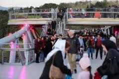 Open to all the public, no restrictions on age, gender, etc. Aga Khan Award for Architecture 2016 Winner: Tabiat Pedestrian Bridge, Tehran