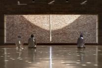 Qibla direction. Aga Khan Award for Architecture 2016 Winner: Bait ur Rouf Mosque Dhaka, Bangladesh