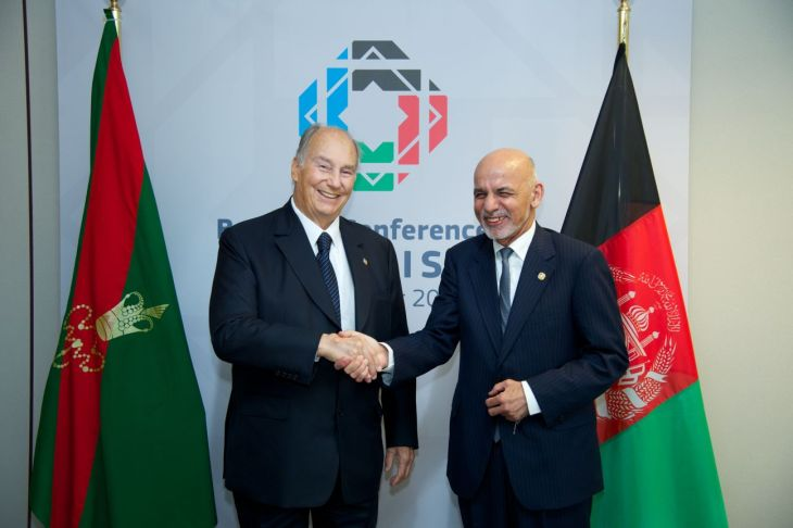 Bilateral meeting: Afghan President and His Highness the Aga Khan | Brussels Conference on Afghanistan (Photos)