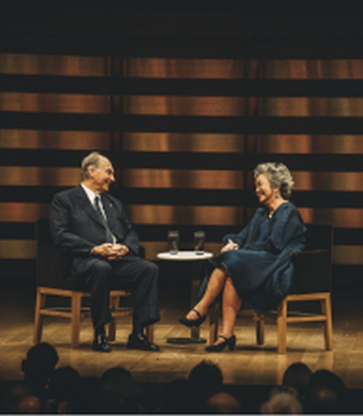 His Highness the Aga Khan, inaugural recipient of the Adrienne Clarkson Prize for Global Citizenship: An inspiration for all engaged in higher education