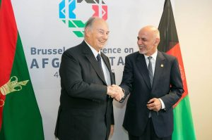 By channeling $1b to Afghanistan, Aga Khan highlights 3 areas in Brussels Conference | Khaama Press