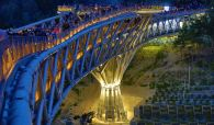 Aga Khan Award for Architecture 2016 Winner: Tabiat Pedestrian Bridge, Tehran, Iran