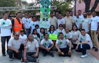 Aga Khan Foundation Walk-Run San Antonio on October 30, 2016