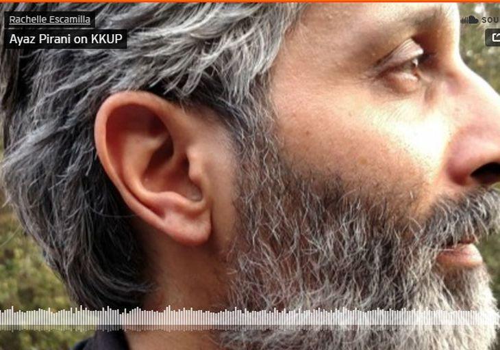 Ayaz Pirani Interviewed on KKUP Poetry Radio Show