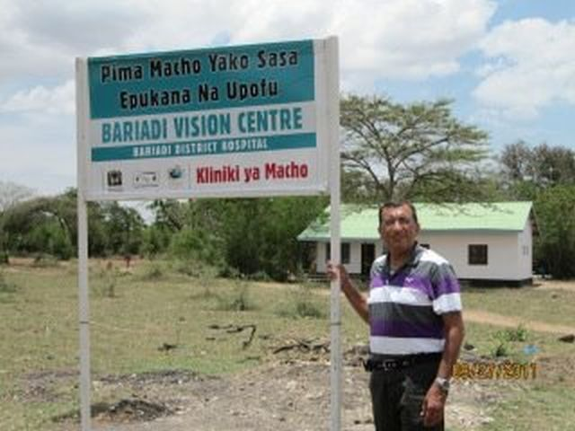 From Texas to Tanzania: A Gift of Sight by Dr. Moes Nasser