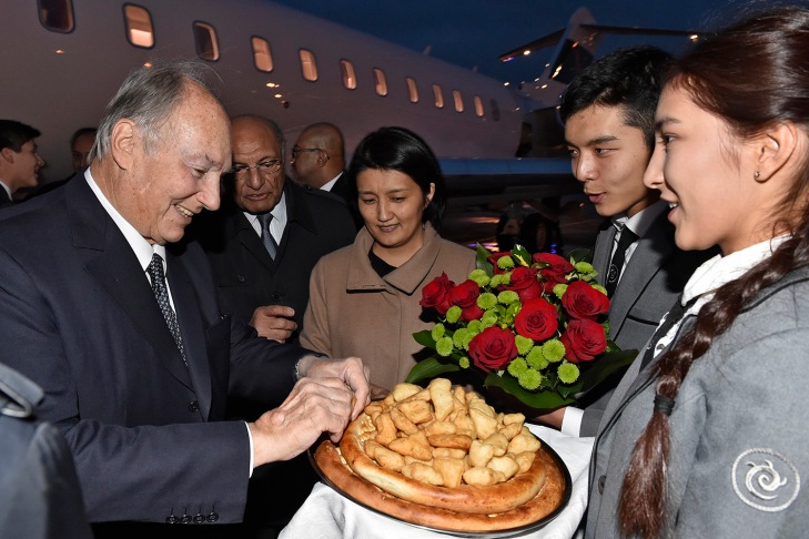 His Highness the Aga Khan arrives in Kyrgyz Republic ahead of University of Central Asia Naryn Campus inauguration | The Ismaili