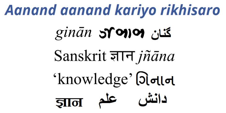 Ginan Series: Aanand aanand kariyo rikhisaro - Rejoice, rejoice o believers!