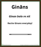 Ginan Series: Ginan bolo re nit - Recite Ginans everyday!