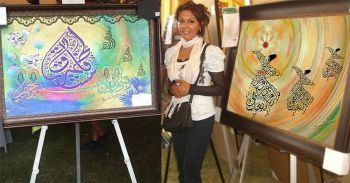 Artist Hamida Madhani Promoting Intercultural Dialog