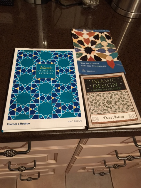 Islamic Geometric Designs, Islamic Design: A Genius for Geometry; Visitor Guide to the Alhambra and the Generalife