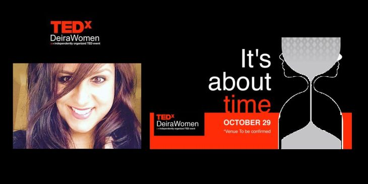 Zainub Bata speaks at TEDxDeiraWomen (Dubai)