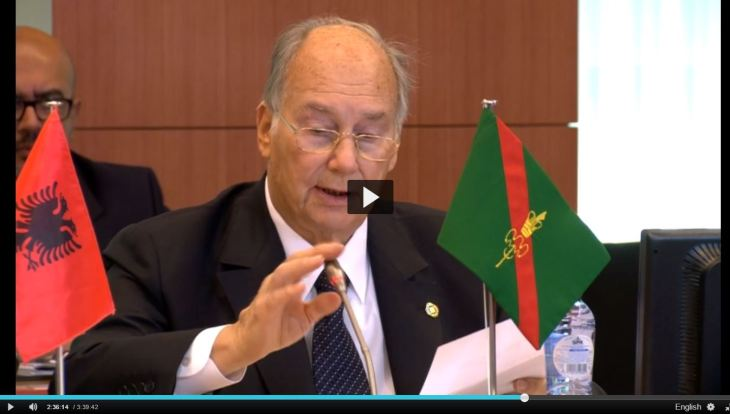 Speech delivered by His Highness Prince Karim Aga Khan at Brussels Conference on Afghanistan (Video)