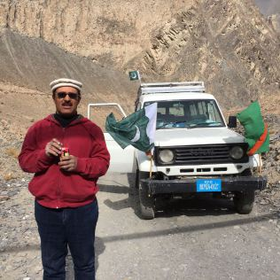 Mirza Aman: Meet the daredevil driver who traveled 60kms in reverse gear from Passu to Shimshal | Pamir Times