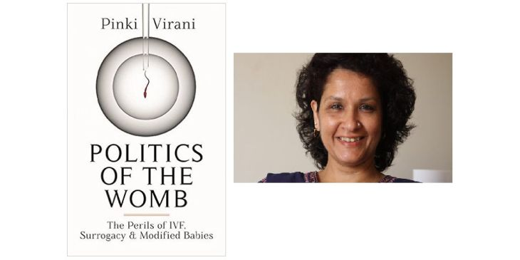 "Activist author Pinki Virani publishes her new book ""Politics of the Womb"""