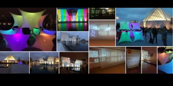 #SensoryCity, #CharBagh, #NuitBlanche #NbTO16 - Lights, Sounds, Shadows, People at the #AgaKhanPark & #AgaKhanMuseum