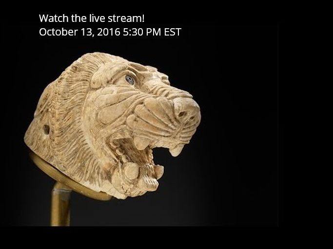 Live Webcast: Newest Exhibition of the Aga Khan Museum - Syria: A Living History