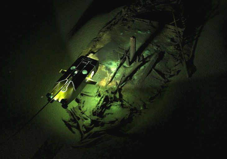 'We Couldn't Believe Our Eyes': A Lost World of Shipwrecks Is Found | New York Times