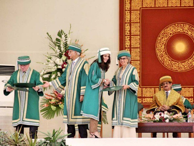 Degree being conferred to the 2016 graduating class. (Image credit: AYESHA MIR/EXPRESS)