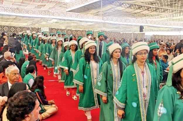 1,382 students awarded degrees at Aga Khan University 29th Convocation. (Image credit: AYESHA MIR/EXPRESS)