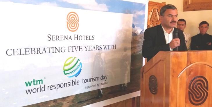 Hunza Serena Inn celebrates World Responsible Tourism Day 2016