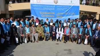 Faizabad learners were among 561 graduates from across the country.