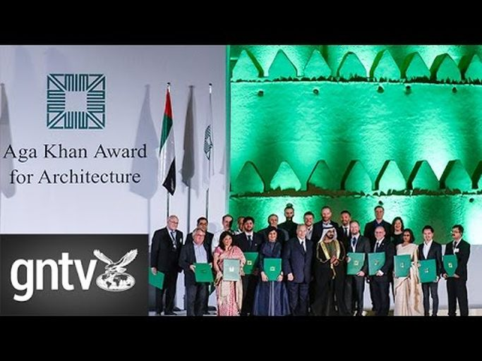 Muslim world's best projects receive Aga Khan architecture prize from Shaikh Mohammad