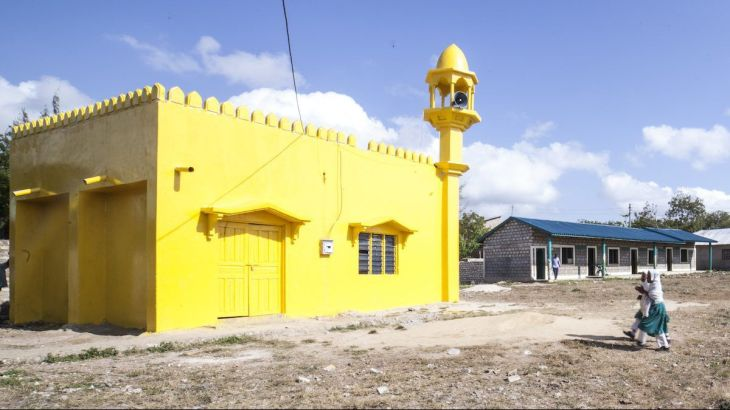 Nabila Alibhai: An artist has painted mosques and churches across Kenya yellow to promote peace