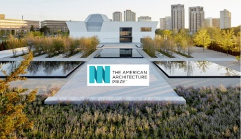 "Aga Khan Park wins two American Architecture Prize honors: silver in the ""Gardens"" category and bronze in the ""Public"" category (image credit: The American Architecture Prize)"