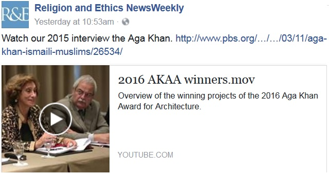 Aga Khan Award for Architecture | PBS Religion & Ethics NewsWeekly