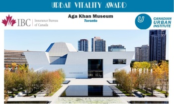 Aga Khan Museum wins Urban Vitality Award from the Canadian Urban Institute